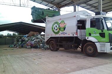 Conclusão da Obra Civil e Aparelhamento de Unidade de Triagem de Resíduos.